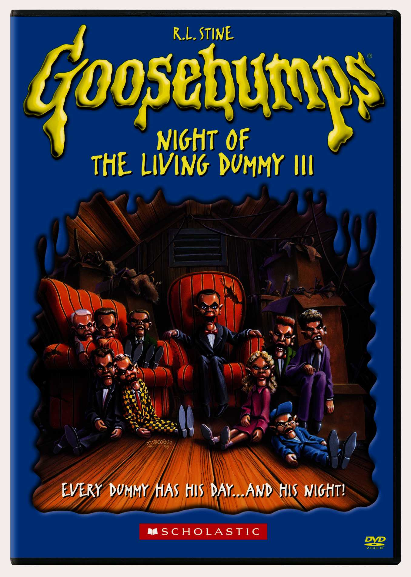 GOOSEBUMPS: NIGHT OF THE LIVING DUMMY BY GOOSEBUMPS (DVD)